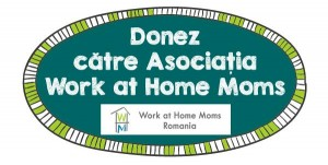 banner donez catre asociatia work at home moms